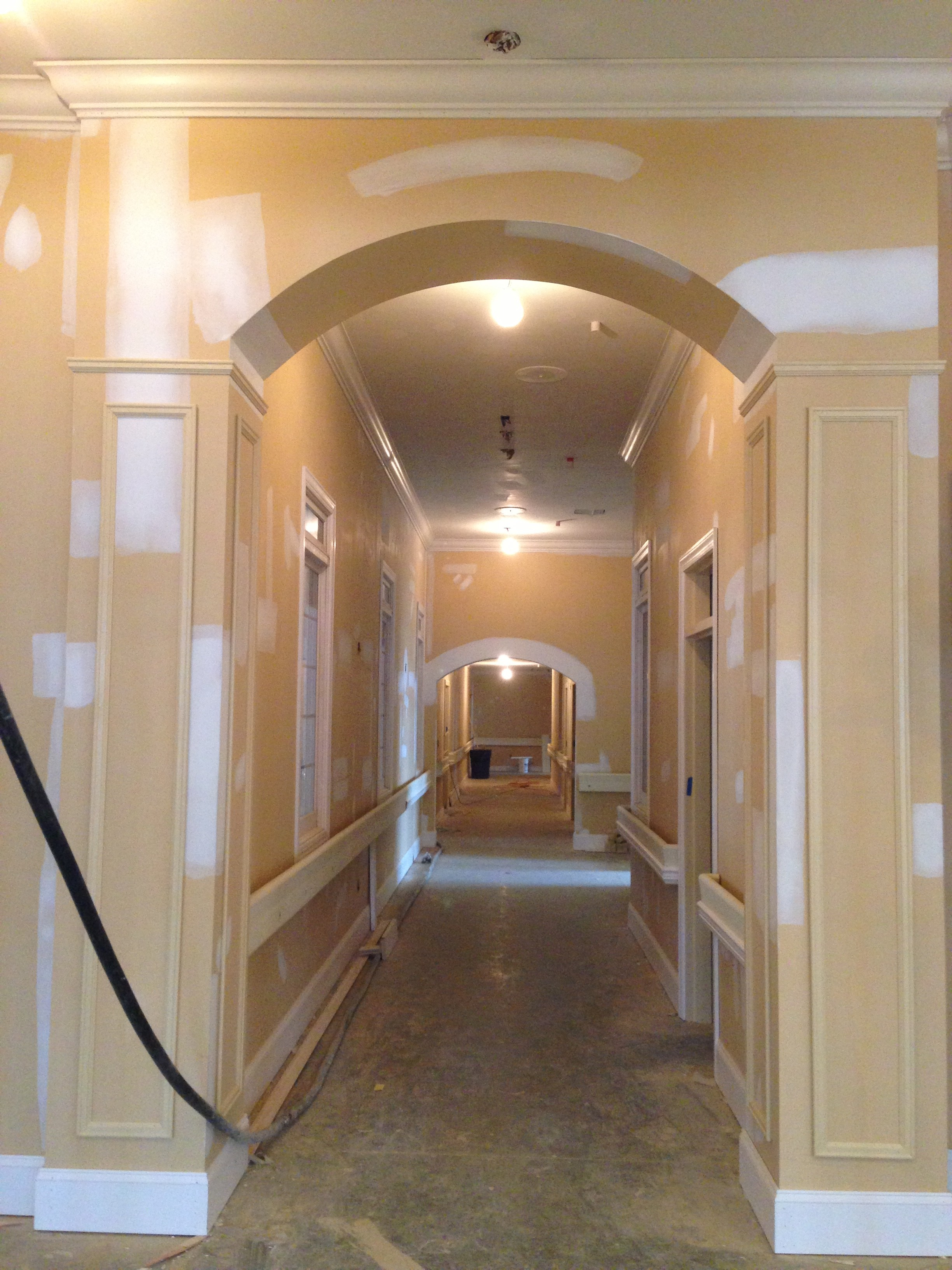 Framing and Trim Work of Large Assisted Living Facility